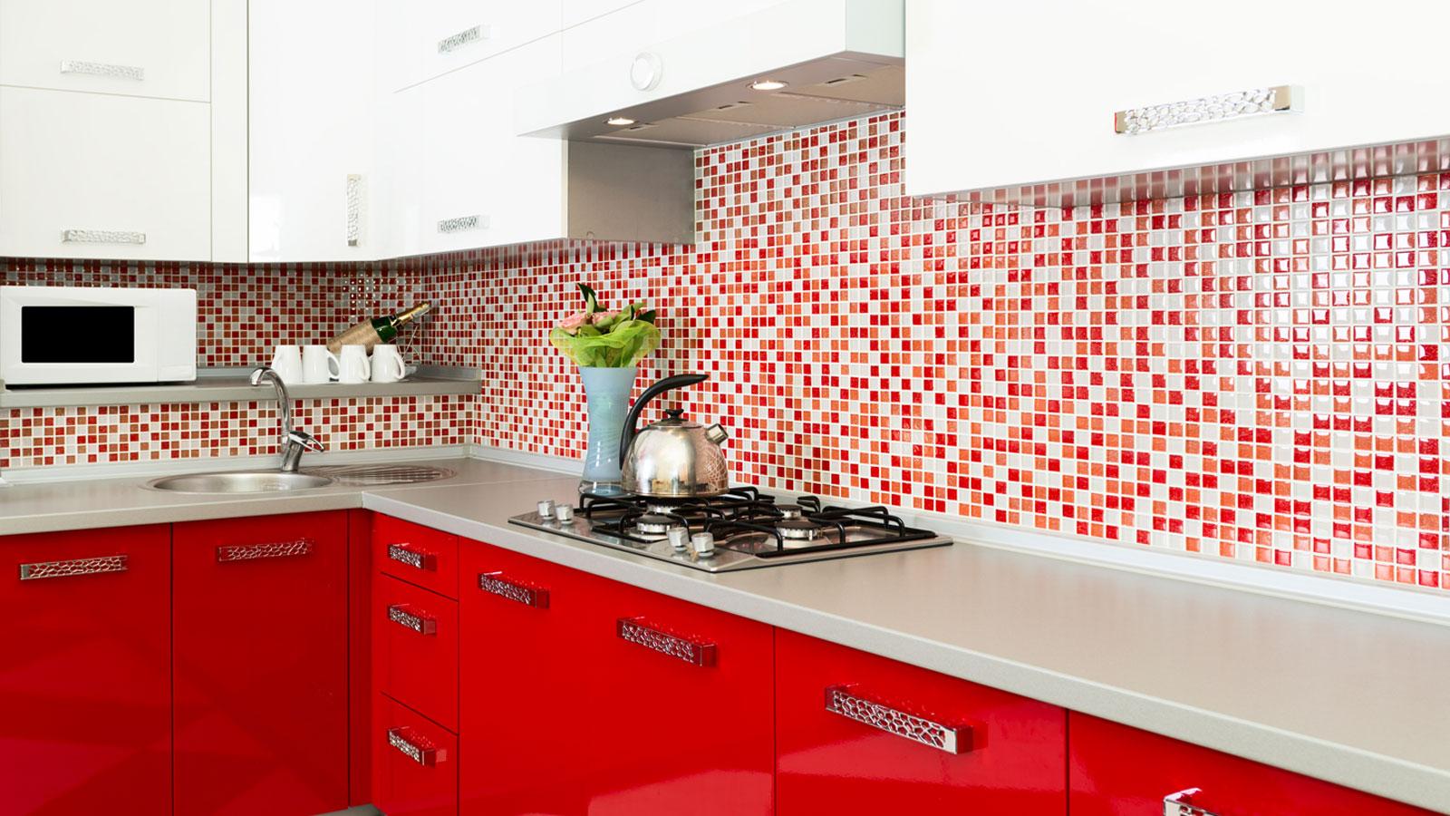 mais claro nas bacadas ou armários para equilibrar a decoração #C10A0D 1600x900